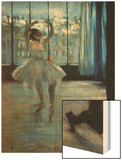 Dancer in Front of a Window (Dancer at the Photographer's Studio) circa 1874-77 Prints by Degas Edgar