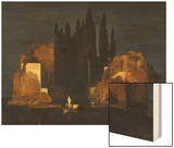 The Isle of the Dead (First Version), 1880 Wood Print by Arnold Bocklin