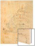 Album of the Siege of Paris, Shell of Cafe De Versailles, Rue De Rennes Wood Print by Gustave Dore