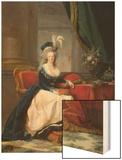 Marie-Antoinette (1755-93) 1788 Wood Print by Elisabeth Louise Vigee-LeBrun
