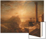 Syria by the Sea, 1873 Wood Print by Frederic Edwin Church