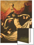 The Trinity, circa 1635 Wood Print by Jusepe de Ribera