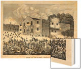 The Siege of the Alamo, 6th March 1836, from Texas, an Epitome of Texas History, 1897 Prints