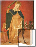 Madonna Del Soccorso Wood Print by Tiberio D'assisi