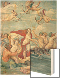 The Triumph of Galatea, 1512-14 Wood Print by  Raphael