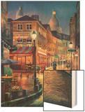 Night Stroll Prints by Sung Kim