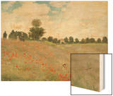 Poppy Field, Near Argenteuil, c.1873 Posters by Monet Claude