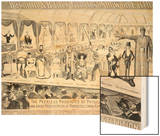 Poster Advertising, The Barnum and Bailey Greatest Show on Earth Wood Print