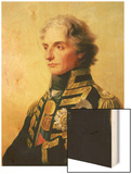 Portrait of Lord Horatio Nelson Wood Print by Friedrich Heinrich Fuger