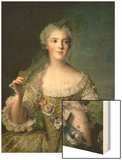 Portrait of Madame Sophie (1734-82), Daughter of Louis XV, at Fontevrault, 1748 Print by Jean-Marc Nattier