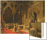 Interior of the Mosque at Cordoba, C.1880 Posters by Edwin Lord Weeks