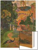 Matamoe (Peacocks in the Country), 1892 Prints by Paul Gauguin