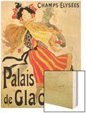 Ice Palace, Champs Elysees, Paris, 1893 Wood Print by Chéret Jules