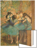 Dancers in Blue, c.1895 Posters by Degas Edgar