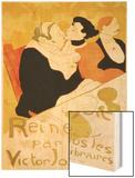 Reine De Joie, 1892 Wood Print by Henri de Toulouse-Lautrec