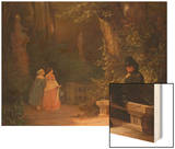 The Widower, 1844 Prints by Carl Spitzweg
