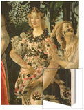 Primavera: Detail of Flora Prints by Sandro Botticelli