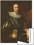 Workshop Of Charles I, King of England Wood Print by Sir Anthony Van Dyck