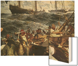 The Buccaneers Wood Print by Frederick Judd Waugh