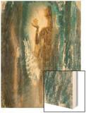 Sariputra Wood Print by Yunlan He