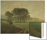 Midday, 1820-25 Wood Print by Caspar David Friedrich