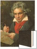 Ludwig Van Beethoven Composing His 'Missa Solemnis', 1820 Prints by Joseph Karl Stieler