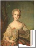 Portrait of Madame Louise de France at Fontevrault, 1748 Poster by Jean-Marc Nattier