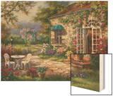 Spring Patio II Prints by Sung Kim