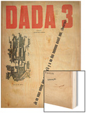 Revue Dada No.3, December 1918 (Colour Litho) Wood Print