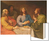 The Supper at Emmaus Art by Philippe De Champaigne