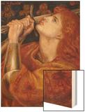 Joan of Arc, 1882 Wood Print by Dante Gabriel Rossetti