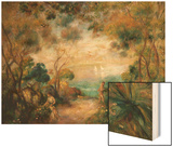 A Garden in Sorrento Prints by Pierre-Auguste Renoir