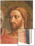 The Tribute Money circa 1427 Wood Print by Tommaso Masaccio