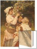 Picking Apples Prints by Morgan Frederick