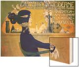 La Maison Moderne, circa 1902 Wood Print by Manuel Orazi