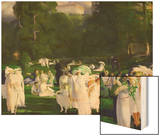 A Day in June, 1913 Prints by George Wesley Bellows
