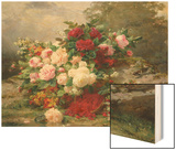 Autumn Flowers Poster by Jean Baptiste Claude Robie