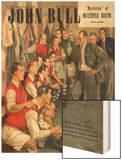 John Bull, Arsenal Football Team Changing Rooms Magazine, UK, 1947 Wood Print