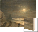 Moon Night, 1885 Art by Ivan Konstantinovich Aivazovsky