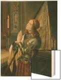 Jeanne d'Arc (Joan of Arc) Wood Print by N.M. Dyudin