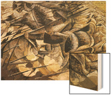 The Charge of the Lancers, 1915 Wood Sign by Boccioni Umberto