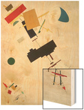 Suprematist Composition No.56, 1916 Wood Print by Kasimir Malevich