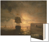 Harbour at Odessa on the Black Sea, 1852 Prints by Ivan Konstantinovich Aivazovsky