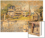 Edgartown, Martha's Vineyard, 1915 Prints by Colin Campbell Cooper