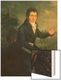 Ludvig Van Beethoven (1770-1827), 1804 Wood Print by Willibrord Joseph Mahler