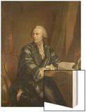 Bildnis Des Mathematikers Und Philosophen Leonhard Euler (1707-1783) Wood Print by E. Bachmann