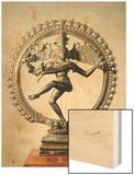 Shiva Nataraja, Tamil Nadu, Late Chola Wood Print