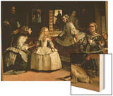 Las Meninas, Detail of the Lower Half of the Family of Philip IV (1605-65) of Spain, 1656 Prints by Diego Velazquez