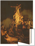 The Descent from the Cross Wood Print by  Rembrandt van Rijn