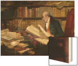 Legal Matter Wood Print by George Fox